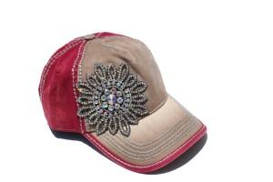 Women's Rhinestone Caps